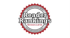Minnesota Lawyer Reader Rankings