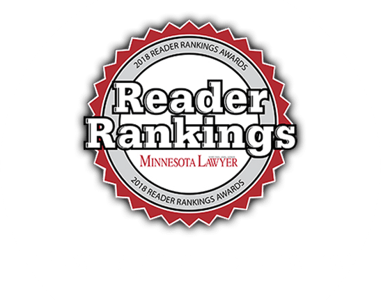 Minnesota Lawyer Reader Rankings logo